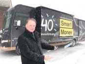 Photo of EFG 40th anniversary van