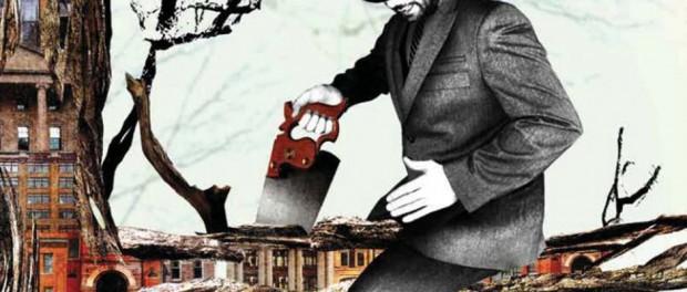 Illustration représentant l'austérité