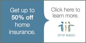 OTIP 50% home insurance