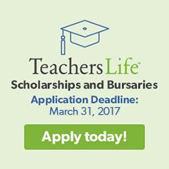 Teachers Life Scolarship and bursaries