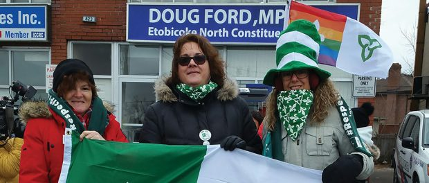 Photo of Marie-Claude Desrosiers, Diane Brochu and Linda Rodgers